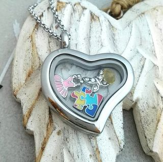 Locket - Silver Heart