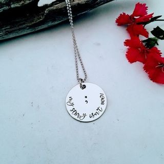 Semi Colon Pendant