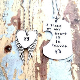 A Piece of our Heart Pendant Set