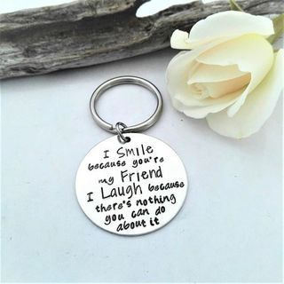 Smile and Laugh Keyring