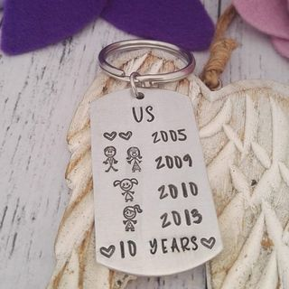 Our Story Keyring