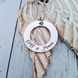 Grit and Grace Pendant