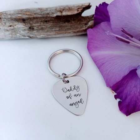 Daddy of an Angel Pendant or Keyring