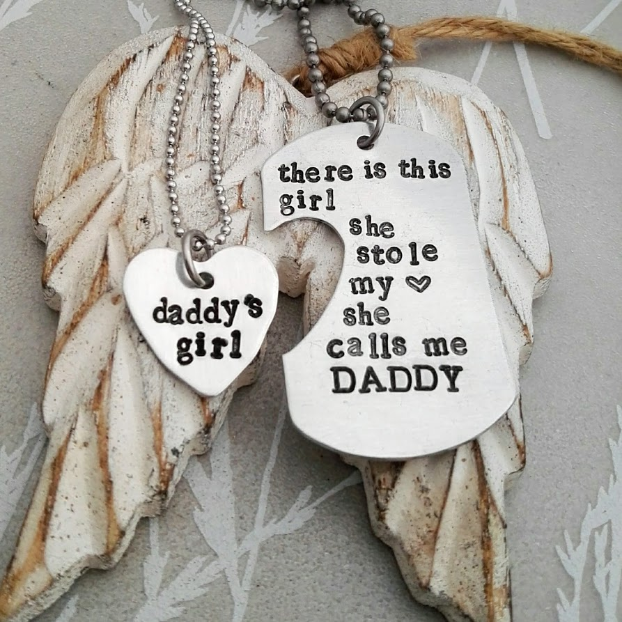 Daddy and Me Dog Tag