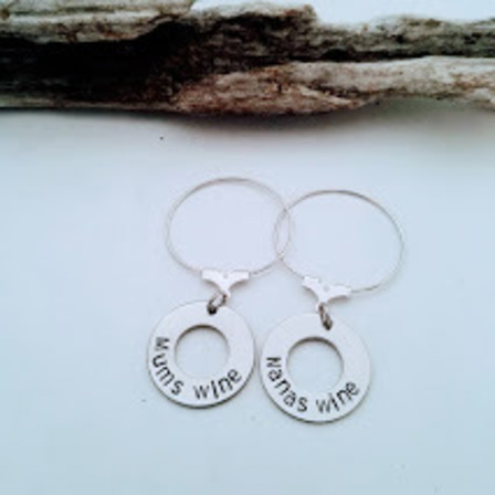 Wine Glass Charms (Set of 2)