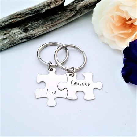 Missing Piece Keyring Set