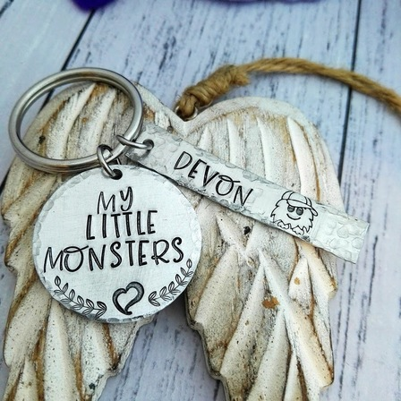Little Monster Keyring