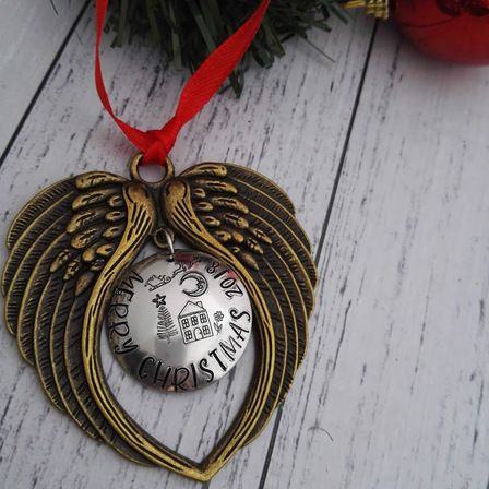 Christmas Decoration with Wings