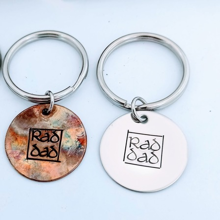RAD DAD Keyring