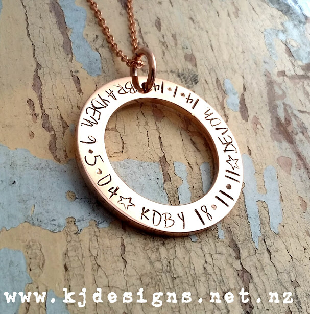 Whats cool about Handstamped Jewellery?
